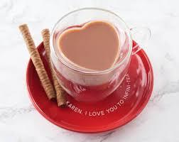 heart shaped mugs heart shaped mug etsy