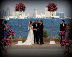 wedding arches san diego acrylic wedding altar arch canopy chuppah admiral kidd san diego