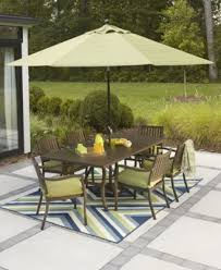 Madison Outdoor Furniture by Madison Outdoor Aluminum 8 Pc Dining Set 64