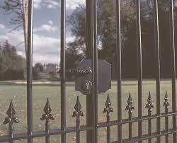 картинки по запросу metal gates lock gate gate and house