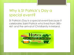 st patrick u0027s day by lucy why is st patrick u0027s day a special event