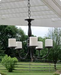 Garden Candle Chandelier Cheap Brass Chandelier Spray Painted And Electrical Removed And