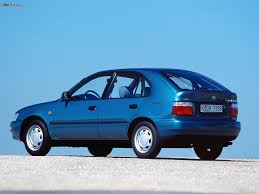 toyota compact corolla compact 5 door e100 1991 u201398 wallpapers