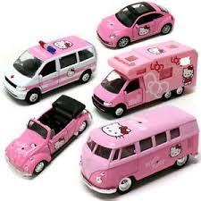 volkswagen mini hello kitty volkswagen car figure toy model classic mini bus cer