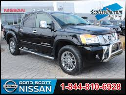 nissan titan 2015 pre owned 2015 nissan titan sl crew cab 4x4 leather nav sunroof