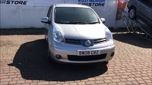 2008 08 nissan note 1 6 tekna 5d auto 109 bhp youtube