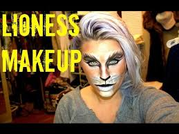 Cool Cat Halloween Costume Lioness Makeup Halloween 2014 Fantasy Makeup