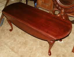 Drop Leaf Coffee Table Pennsylvania House Cherry Dropleaf Coffee Table Ct62 Ebay