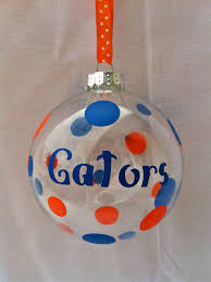 florida gator team ornament with gift box by kreationsbykjs 8 00