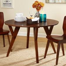 angelo home allen mid century dining table free shipping today