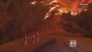 Wildfire La Area by Overnight Rain Helps Crews Battling Socal La Tuna Wildfire Youtube