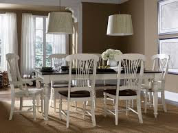 white dining room furniture dark wood square dining room table dining room table
