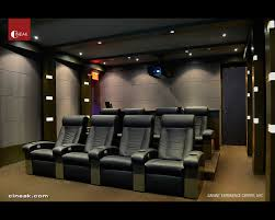 home theater design nyc savant experience center with cineak seats modern home