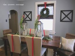 dining room christmas dining room chair covers home design great