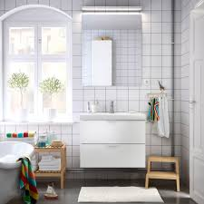 bathroom furniture ideas ikea ireland bathroom with white wash stand mirror and benches solid birch