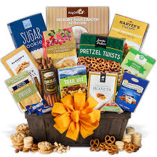 healthy snack gift basket get well gift baskets by gourmetgiftbaskets