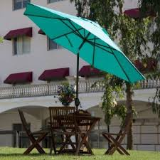 outdoor modern patio umbrella perfect answer for a bright and