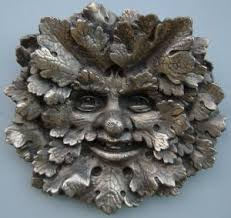 124 best leaf faces images on green sculpture and