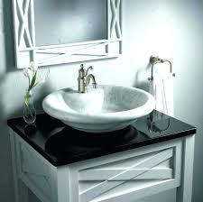 vessel sinks bathroom ideas amusing sink bowl bathroom s install drain at