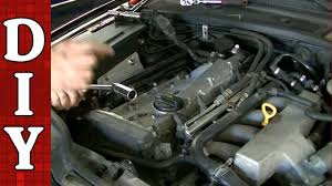 how to replace ignition coil and spark plugs on a vw passat audi