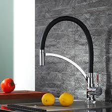robinet pour cuisine homelody robinet de cuisine mitigeur pour evier bec pivotant tuyau