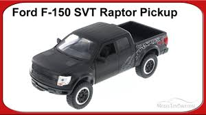 Ford Raptor Truck Black - ford f 150 svt raptor pickup truck black jada toys 96502 1 24