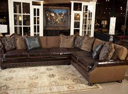 ebay brown leather sofa sofa klaussner leather sofa attractive homestead leather sofa by