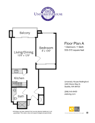 floor plans features university house wallingford seattle wa one bedroom options beds 1