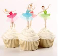 ballerina cake toppers cupcake craze cupcake accessories ballerina cupcake toppers
