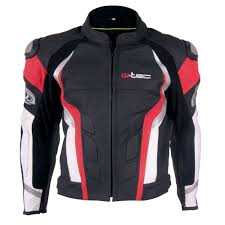red motorcycle jacket men u0027s leather moto jacket w tec velocity insportline
