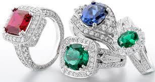coloured gemstone rings images Coloured stones gem analysis jpg