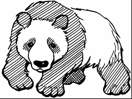 black bear coloring pages coloring pages panda bear coloring pages with cute for you