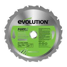 lade wood evolution fury 16t circular saw blade dia 185mm departments