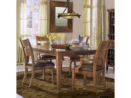 urban craftsmen rectangular dining room table with leaf ruby