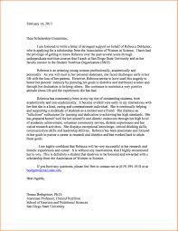 11 scholarship recommendation letter sample receipts template