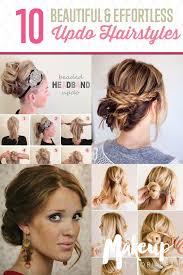 vintage updo hairstyles vintage updo hairstyle for medium long