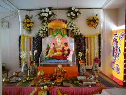 Home Ganpati Decoration Ganpati Decoration Sets At Home Ash999 Info