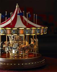 christmas carousel mr christmas musical carousel merry go decor
