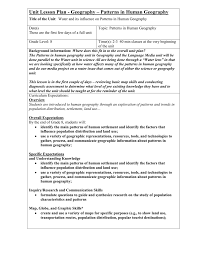 Study Of Maps Unit Lesson Plan Geography Overview