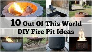 Fire Pit Designs Diy - out of this world diy fire pit ideas