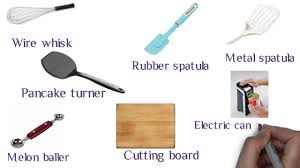 Kitchen Utensils Names by Chef Gg And Basic Kitchen Tools Youtube