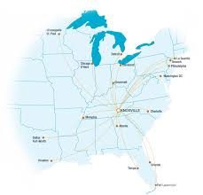 Flight Path Map Knoxville Airport Flight Paths Loudon County Tennessee Economic
