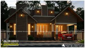Kerala Home Design Low Cost Square Feet Single Floor Low Cost Modern Home Design