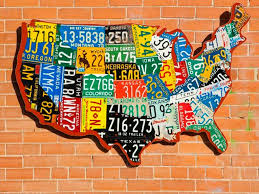Usa License Plate Map by Old License Plates Here U0027s 20 Ingenious Projects You Can Do