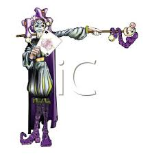 mardi gras joker royalty free clipart image stylized jester holding an ace for