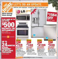 the home depot black friday ad black friday 2013 deals for refrigerators appliances on home