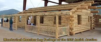 16x20 log cabin meadowlark log homes meadowlark rancher log homestead meadowlark log homes
