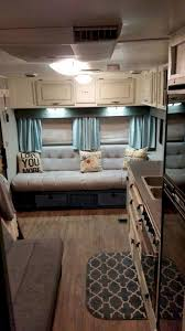 Camper Trailer Interior Ideas 40 Best Diy Remodeled Campers On A Budget Ideas Remodeled