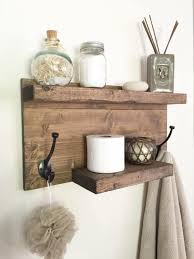 How To Decorate Floating Shelves 36 Best Farmhouse Bathroom Design And Decor Ideas For 2017