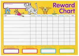 child reward chart template